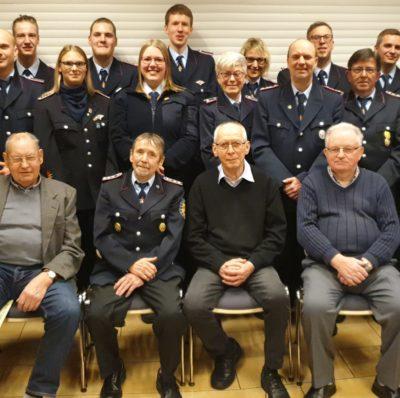 Jahreshauptversammlung Freiwillige Feuerwehr