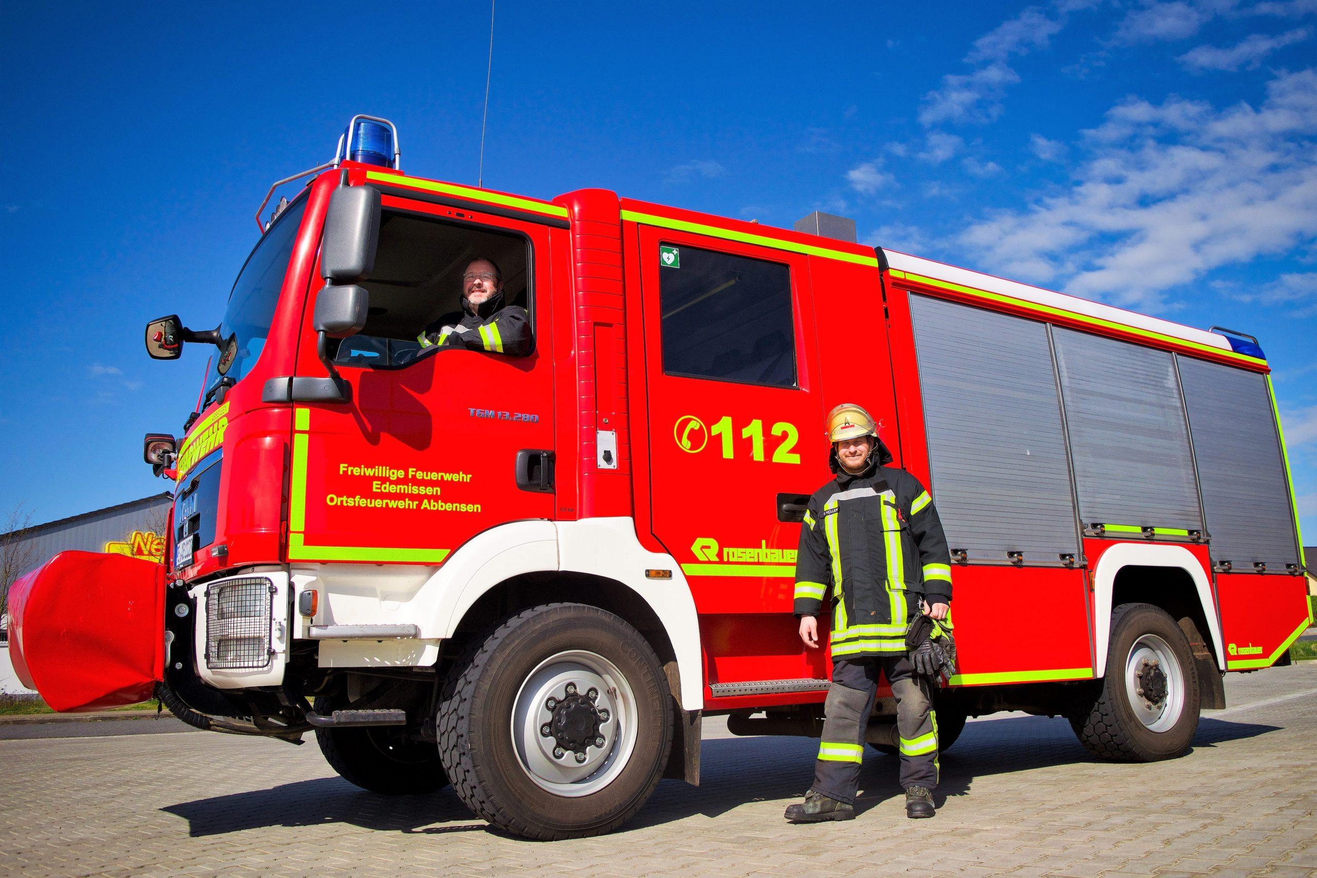 Neuer Ortsbrandmeister und Stellvertreter