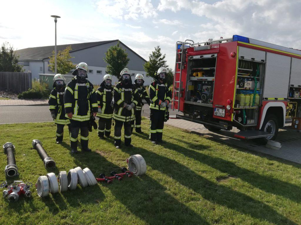 Ausbildungsdienst für unsere AtemschutzgeräteträgerInnen